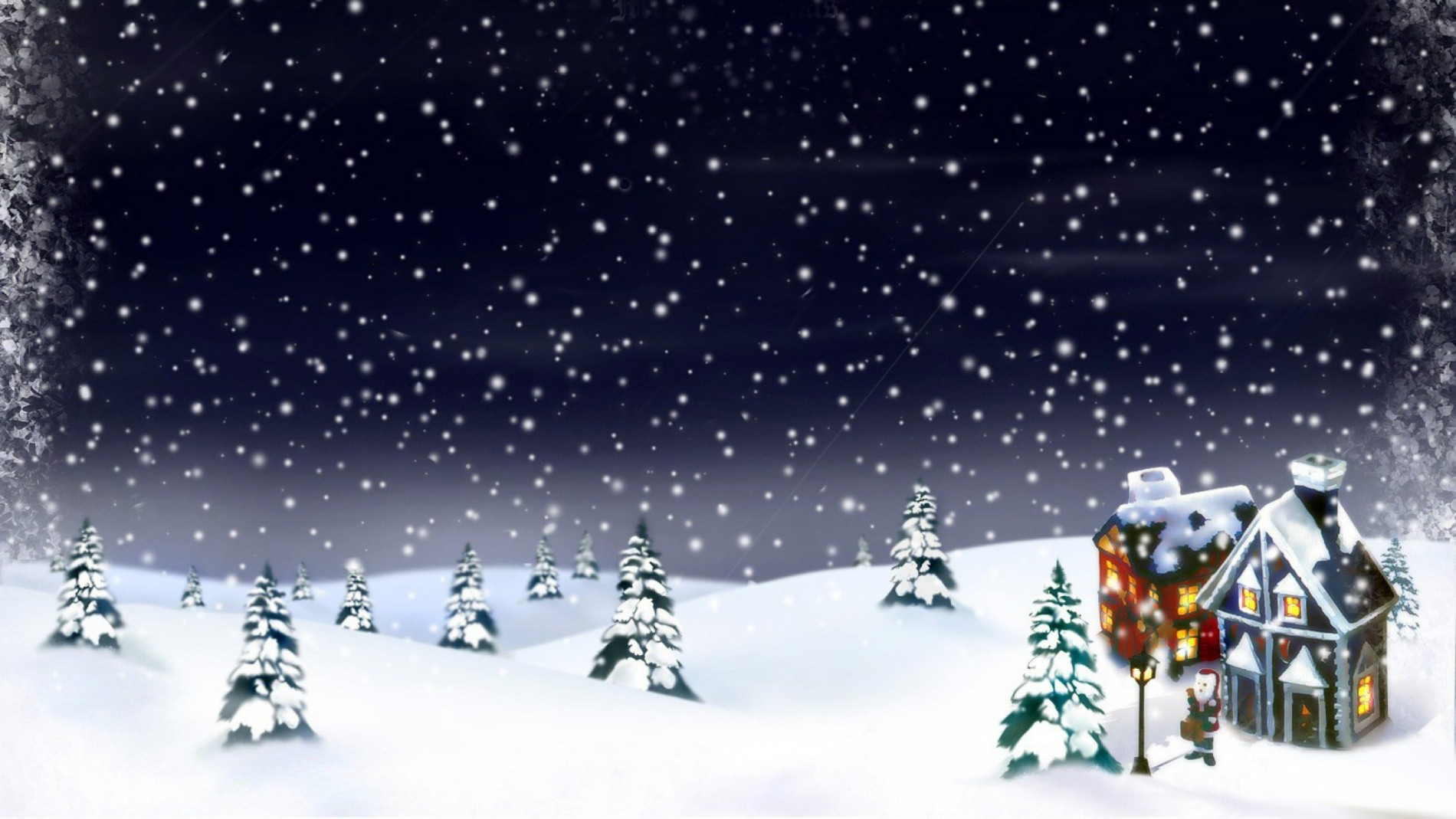 2015 christmas snow background central property lettings